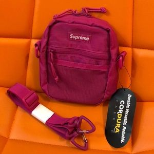 Magenta Supreme Shoulder Bag